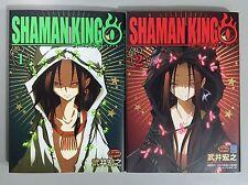 [in Japanese] Shaman King Zero 1-2 set / Hiroyuki Takei / Japanese manga comic