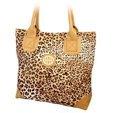 Henkeltasche Leoparden-Look Damen Mädchen NEU schwarz gelb