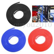 1x 3 Meters Silicone Hose For High Temp Vacuum Engine Bay Dress Up 4MM Air D