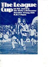 Written-on Sheffield Wednesday Teams S-Z Football Programmes