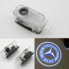 2x Ghost LED Door Step Courtesy Shadow Laser Light for Mercedes 07-12 S-CLASS