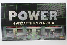 VINTAGE POWER STRATEGY RARE GREEK BOARD GAME SPEAR'S GAMES 1997 MATTEL