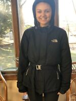 The North Face Womens Black Triclimate Hooded Coat Jacket Size Medium