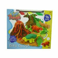 Fun Toy Dough Dino Playing Dough With Accessories & Dinosaur Moulds NEW BOXED