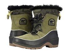 Sorel Tivoli III Waterproof Snow Boots Womens 9 Green Winter Camo NEW