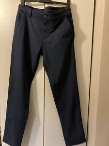"LULULEMON Commission Pant Classic 34"" L 32"" W True Navy - Brand New -RRP £118"