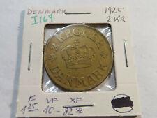 I167 Denmark 1925 2 Kroner