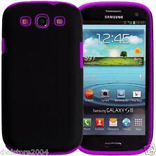 Custodia IBRIDA VIOLA per Samsung Galaxy S3 I9300 I9300I NEO I9305 Cover Bumper
