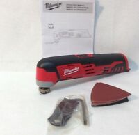 MILWAUKEE 2426-20 NEW 12V Li-Ion M12 Multi Oscillating Tool With Accessories