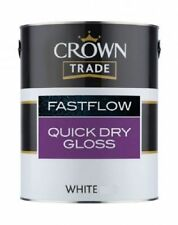 Crown Trade FastFlow Quick Dry Gloss White 2.5ltr