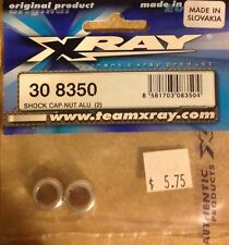 Team X-Ray Part #308350 2 Shock Cap Nuts for the T1 series