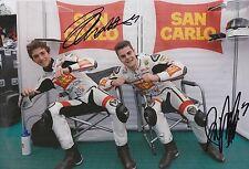ROMANO Endurance, Francesco Bagnai Firmato a Mano San Carlo FTR HONDA 12x8 foto 2013