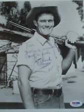 Chuck Connors autographed  Hand-Signed 8x10 Photo .PSA/DNA  Certified