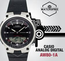 Casio Analog Digital Watch AW80-1A