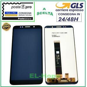 LCD DISPLAY HUAWEI Y5 2018 DRA-L01 L02 L21 L22 L23 TOUCH SCREEN SCHERMO NERO