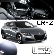 Honda CRZ CR-Z Kit 7 Ampoules LED Blanc intérieur Plafonnier Portes Coffre Boîte