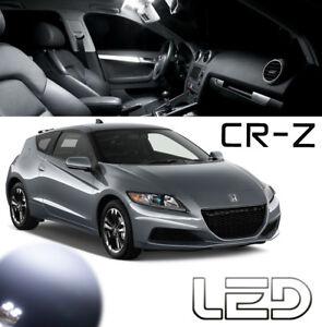 Honda CRZ CR-Z  Ampoules LED Blanc intérieur Plafonnier Portes Coffre habitacle