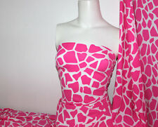 Animal print Lycra/Spandex 4 way stretch Finish Fabric