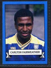 (Gp969-407) Merlin Football Card, Team 90, #290 C.Fairweather, Wimbledon 1990 EX