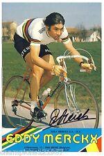 Eddy Merckx + + autógrafo + + Tour de France ganador + +