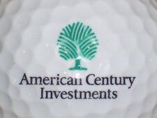 (1) American Century Investments Logo Golf Ball Mutual Funds (Green Tree)