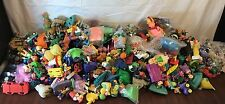 "100+ Mixed Lot Of Vintage 80's 90's Tv McDonald's Fast Food Toys 11""x12"" Box Ful"