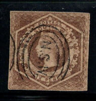New South Wales 1854 Mi. 17d Gestempelt 100% 6 P, Königin Victoria