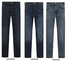 Wrangler Stretch Denim Jeans Slim Straight Quality Fabric Casual Trouser Durable
