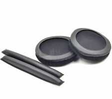 Velvet Cushioned Ear Pads headband For Sennheiser HD25 Amperior DJ Headphone