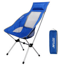 Ultralight Portable Folding Fishing Chair Max Load 150kg Oxford Fabric with Bag