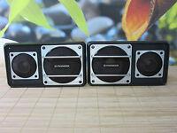 2X VINTAGE CAR AUDIO LOUDSPEAKER PIONEER TS-X6. ONLY PARTS.