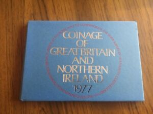 1977 coinage of Great Britain 7 coin proof set inc crown