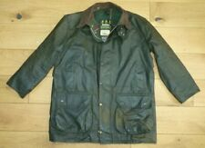 VINTAGE BARBOUR NORTHUMBRIA A400 GREEN WAX JACKET C44/112cm XL