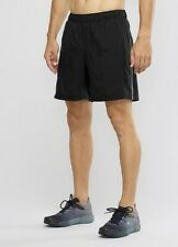 Mens Salomon Agile 2in1 Shorts SMALL Black RRP £45.00 Running Gym Trail