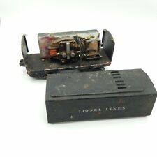 Lionel Lines 1654W O/O27 Whistle Tender 1946-1947 Sheet Metal Model Train