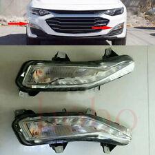 2x For Chevrolet Malibu 2018-19 Auto Front Left+Right Fog Light Lamp Cover TRIM