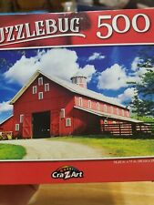 "Jigsaw ""On the Farm"" PUZZLE 500 Pcs Puzzlebug NEW"