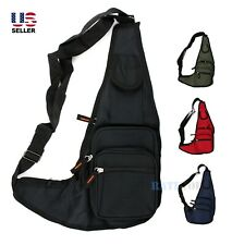 Mens Sling Bag Backpack Fanny Pack Crossbody Shoulder Travel Sport Messenger