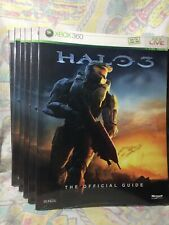 Halo 3 Video Game Strategy Guide Collection NEW! PS2 Nintendo Xbox