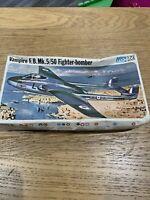FROG 1/72 VAMPIRE F.B. Mk5/50 FIGHTER BOMBER F431 Contents new Unused