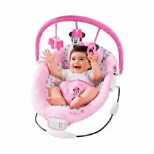 INGENUITY Babywippe Delights Bouncer Babybett NEU Rosa/Schwarz