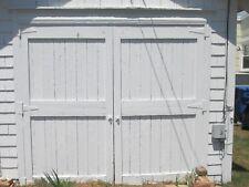 ANTIQUE VINTAGE CARRIAGE DOORS BARN DOOR  approx 92 W x 86 T