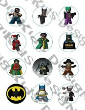 Lego Batman Movie Cupcake Toppers Set of 12