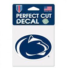 "Penn State 4"" x 4"" Logo Truck Car Auto Window Die Cut Decal New! Team Colors"