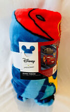 NWT Disney's Cars 3 Plush Throw 50X60 McQueen Pistons Cup