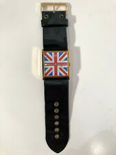 Vintage 1960's Old England Swiss-Made Watch Union Jack Face-WORKING WELL!!!