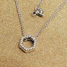PANDORA Sparkling Honeycomb Hexagon Collier Necklace 398787C01-50 cm Brand New!