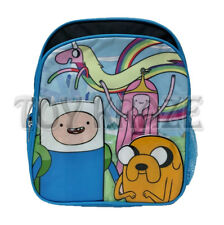 "ADVENTURE TIME TODDLER BACKPACK! BLUE RAINICORN SMALL SCHOOL BOOK BAG 12"" NWT"