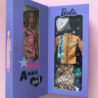 ANNA SUI x Barbie Doll Yellow 60thanniversary collaboration doll New DHLshipping