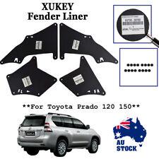 4PCS For Toyota Land Cruiser Prado Apron Fender Liner Seal Flap Splash Mudflaps